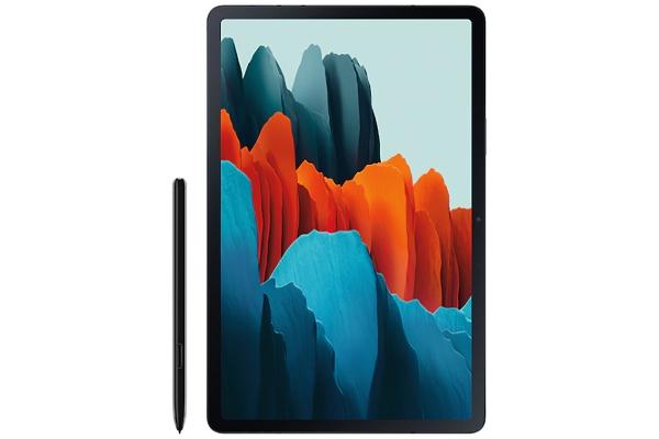 """Large image of Samsung Galaxy Tab S7+ Wi-Fi 12.4"""" 128GB Mystic Black Tablet - SM-T970NZKAXAR"""