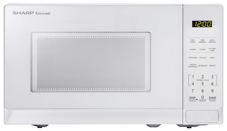 sharp white countertop microwave oven smc0710bw