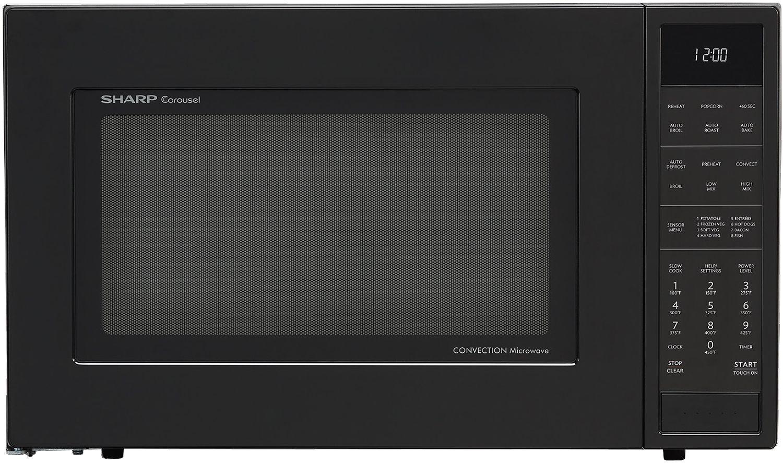 Sharp Black Convection Countertop Microwave