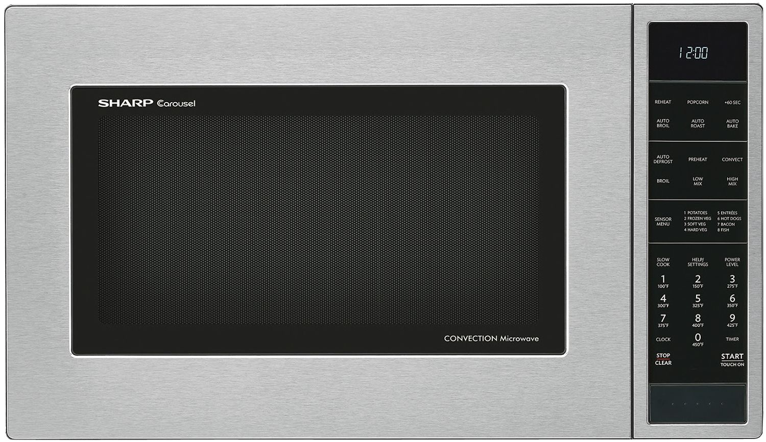 Sharp Stainless Steel Convection