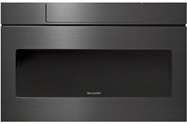 Black Stainless Microwave Drawer Oven