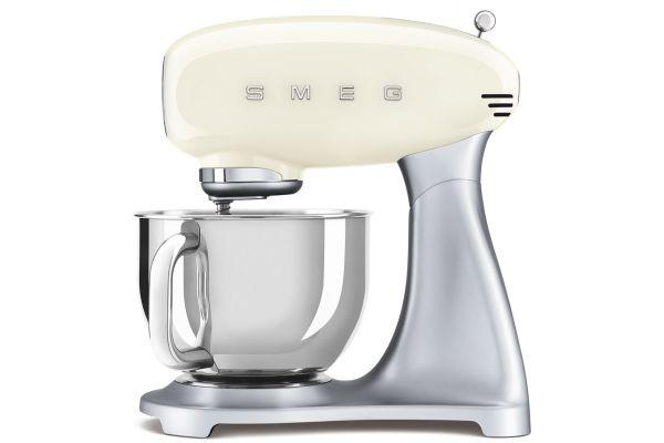 Large image of Smeg 50s Style Cream Stand Mixer - SMF02CRUS