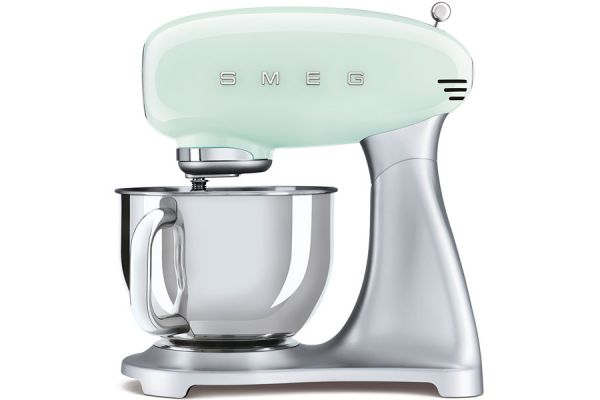 Smeg 50's Style Pastel Green Stand Mixer - SMF02PGUS