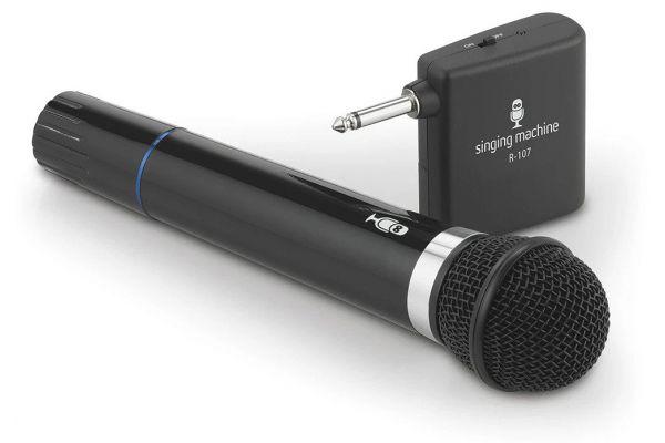 Large image of Singing Machine Wireless Microphone - SMM-107