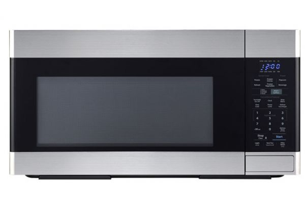 Large image of Sharp Stainless Steel Over-The-Range Microwave Oven - SMO1652DS