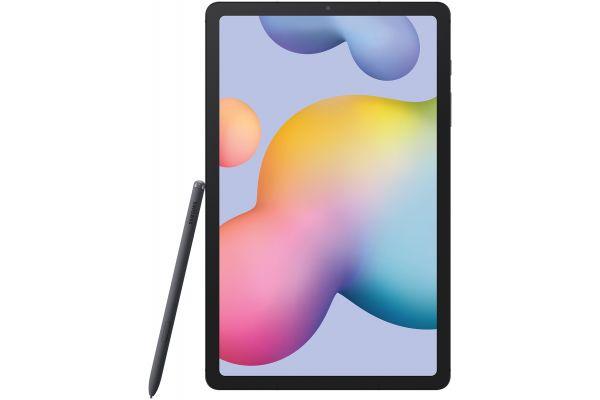 """Large image of Samsung Galaxy Tab S6 Lite 10.4"""" 128GB Oxford Gray Tablet - SM-P610NZAEXAR"""