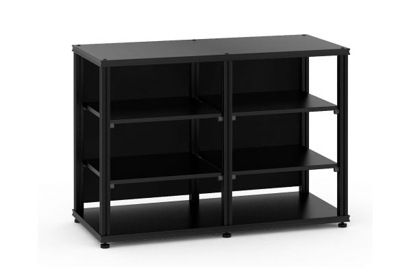 Large image of Salamander Designs Synergy Core Black Modular AV Cabinet - SN30B/B