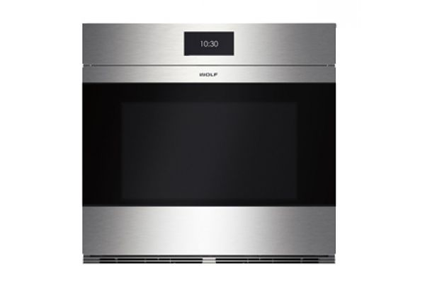 """Large image of Wolf 30"""" M Series Built-In  Contemporary Stainless Steel Single Oven  - SO30CMS"""