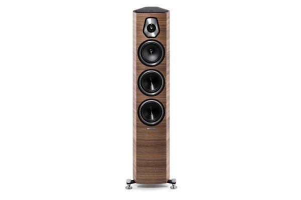 Sonus Faber Sonetto III Walnut 3-Way Floor Standing Speakers (Pair) - SONETTOIIIWAL