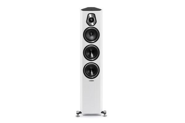 Sonus Faber Sonetto III White 3-Way Floor Standing Speakers (Pair) - SONETTOIIIWH