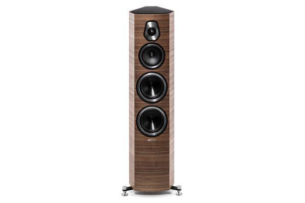 Sonus Faber Sonetto V Walnut 3-Way Floor Standing Speakers (Pair) - SONETTOVWAL