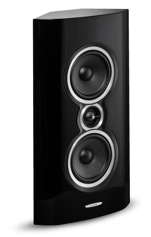 Sonus Faber Sonetto Black 2-Way On-Wall Speaker - SONETTOWALLBK