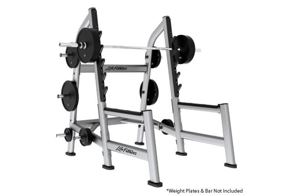 Large image of Life Fitness Signature Series Platinum Olympic Squat Rack - SOSR