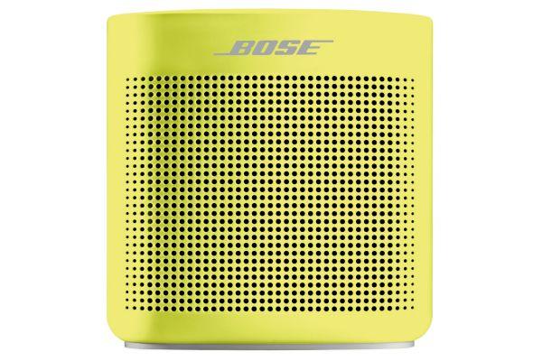Large image of Bose Yellow Citron SoundLink Color Bluetooth Speaker II - 752195-0900