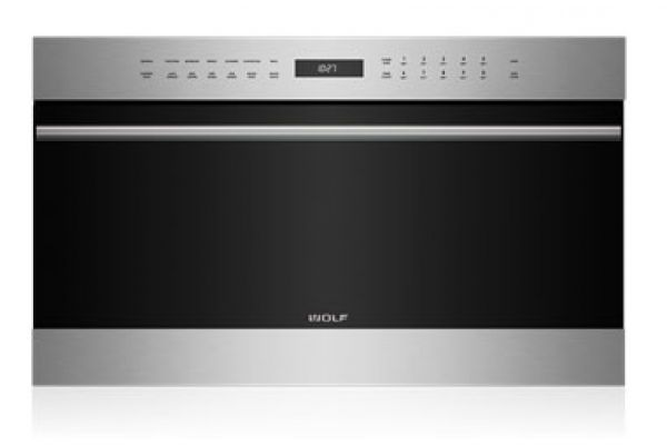 """Large image of Wolf 30"""" E Series Transitional Built-In Stainless Steel Speed Oven - SPO24TE/S/TH"""