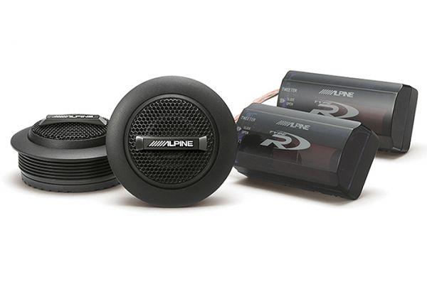 """Alpine Type-R 1"""" Silk Ring Dome Tweeter Set - SPR-10TW"""