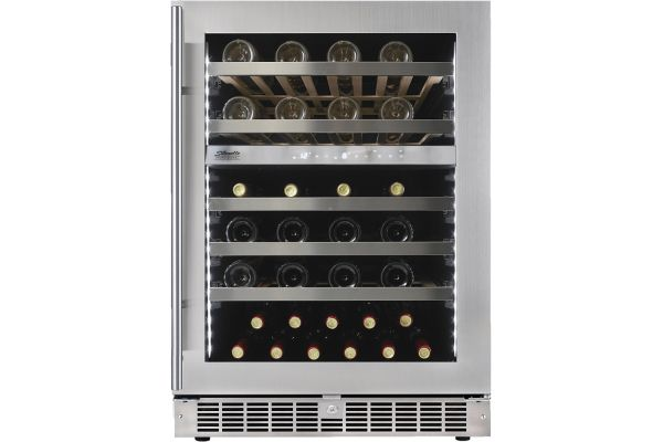 "Large image of Danby Silhouette Sonoma 24"" Stainless Frame Under-Counter Wine Cellar - SPRWC053D1SS"