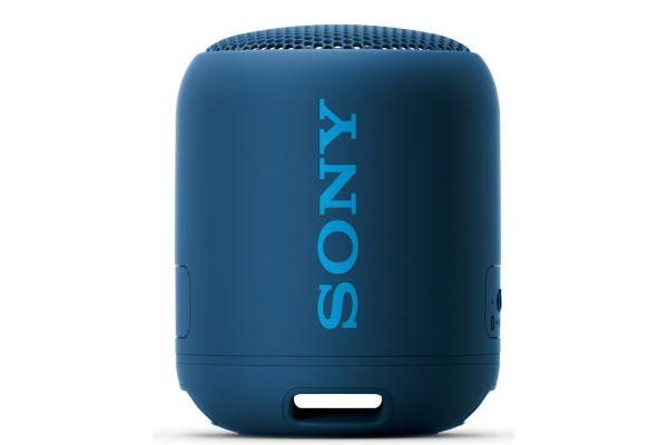 Large image of Sony Blue Extra Bass Portable Wireless Bluetooth Speaker - SRSXB12/LZ