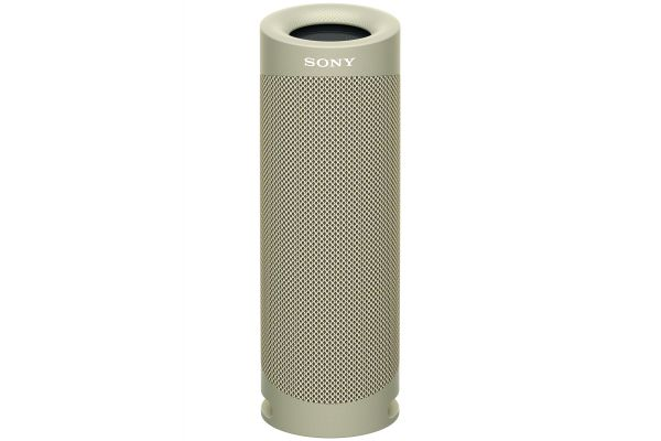 Large image of Sony Taupe XB23 EXTRA BASS Portable Bluetooth Speaker - SRSXB23/C