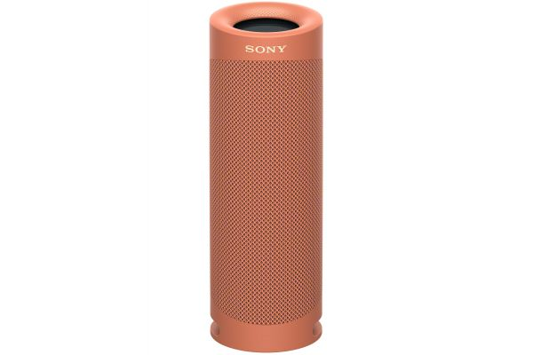 Large image of Sony Coral Red XB23 EXTRA BASS Portable Bluetooth Speaker - SRSXB23/R