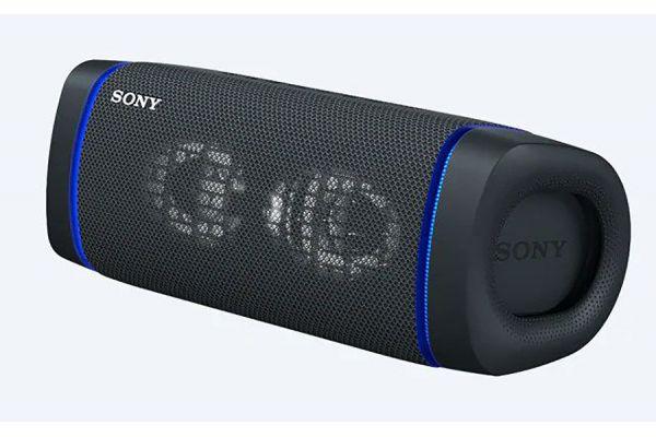 Large image of Sony XB33 EXTRA BASS Black Portable Bluetooth Speaker - SRSXB33/B