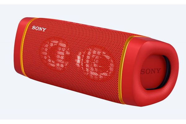 Large image of Sony XB33 EXTRA BASS Red Portable Bluetooth Speaker - SRSXB33/R
