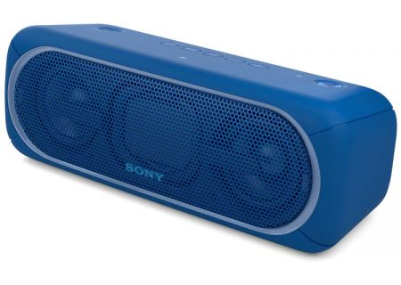 Sony - SRS-XB40/BLUE - Bluetooth & Portable Speakers
