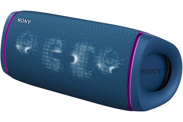 Large image of Sony Blue XB43 EXTRA BASS Portable Bluetooth Speaker - SRSXB43/L