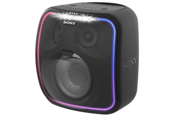 Sony Black Extra Bass Google Assistant Built-In Bluetooth Speaker - SRSXB501G/B