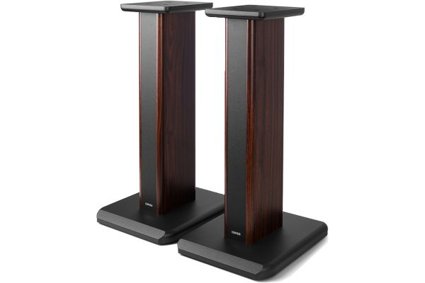 Large image of Edifier Wood Grain Speaker Stands For S3000Pro (Pair) - SS03