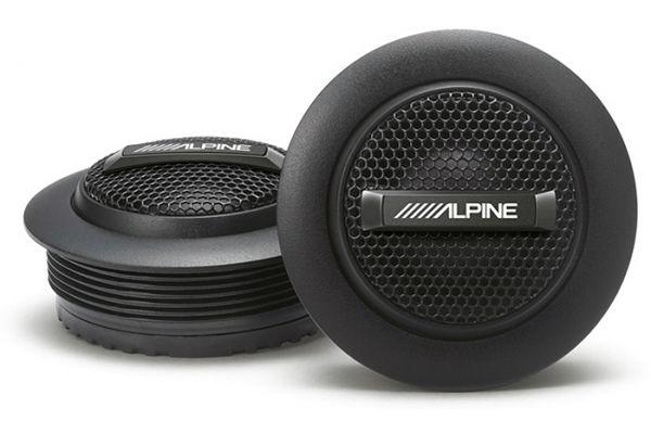 "Large image of Alpine 1"" Type-S Silk Dome Tweeter Set (Pair) - S-S10TW"