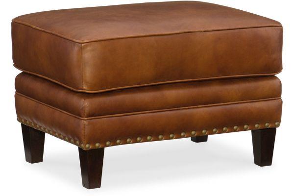 Large image of Hooker Furniture Living Room Exton Ottoman - SS387-OT-087