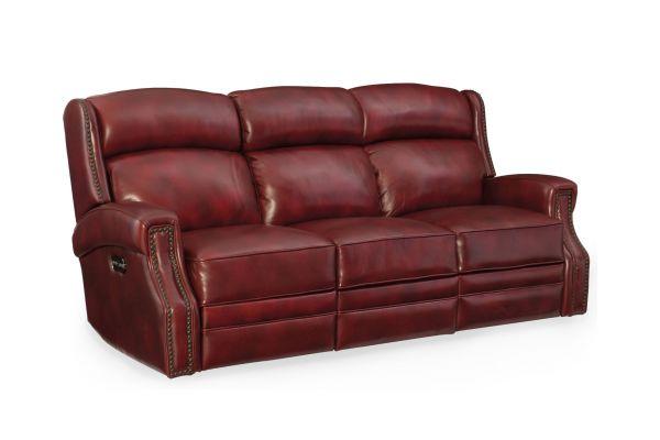 Large image of Hooker Furniture Living Room Carlisle Power Motion Sofa - SS460-P3-165