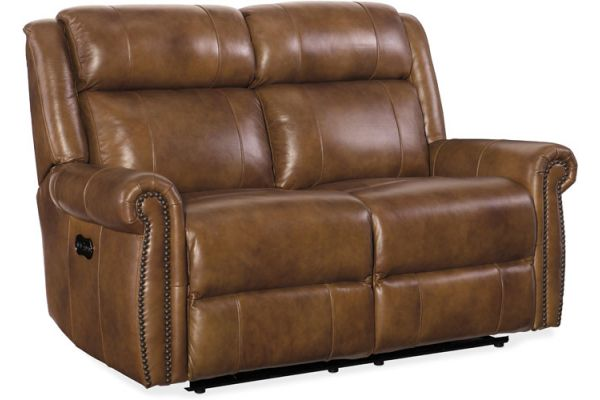 Large image of Hooker Furniture Living Room Esme Power Motion Loveseat With Power Headrests - SS461-P2-185