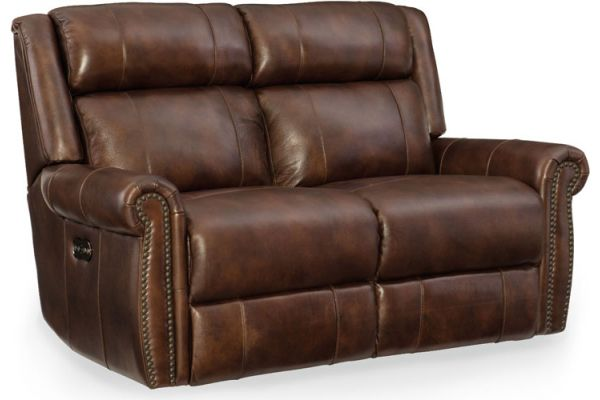 Large image of Hooker Furniture Living Room Esme Power Motion Loveseat With Power Headrests - SS461-P2-188