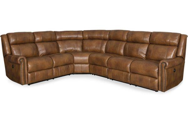 Large image of Hooker Furniture Living Room Esme Sectional Sofa - SS461-PS-185
