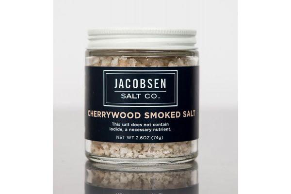 Large image of Jacobsen Salt Co. Infused Cherrywood Smoked Salt - SS4J