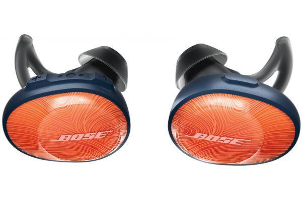 Bose SoundSport Free Wireless Bright Orange In-Ear Headphones - 774373-0030