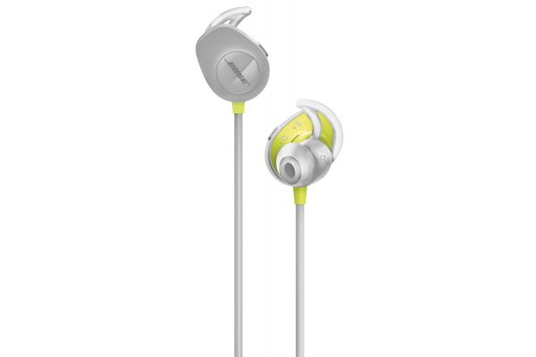 Large image of Bose Citron SoundSport Wireless In-Ear Headphones - 761529-0030