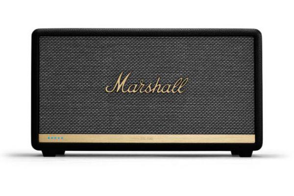 Large image of Marshall Stanmore II Voice Black Speaker With Amazon Alexa - 1002492