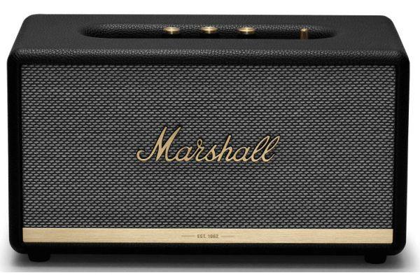 Large image of Marshall Stanmore II Black Bluetooth Speaker - 1002485