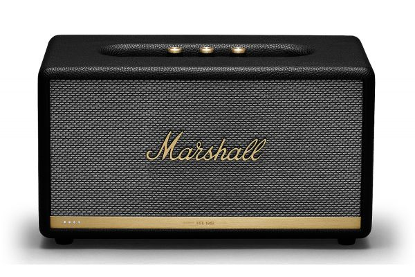 Large image of Marshall Stanmore II Voice Black Speaker With Google Assistant - 1002655