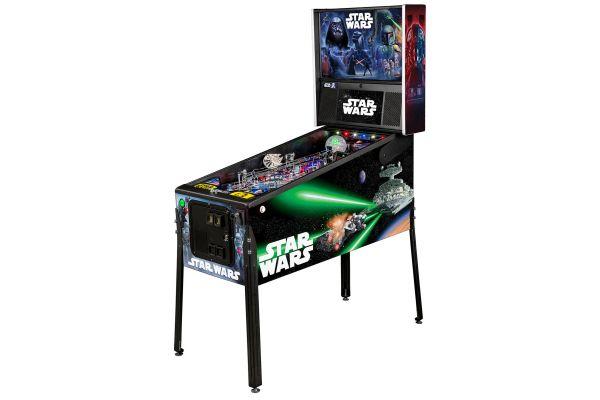 Large image of Stern Pinball Star Wars Premium Edition Pinball Machine - STARWARSPREM