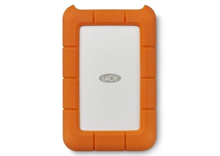 LaCie 1TB Rugged USB-C External Hard Drive - STFR1000800