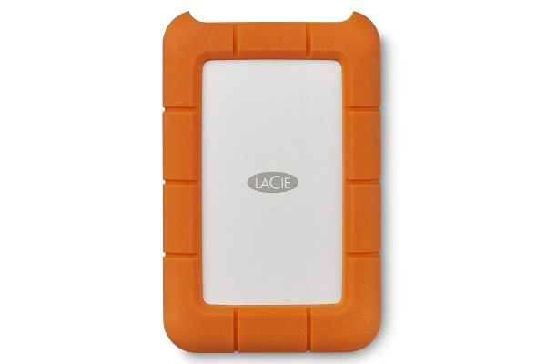 LaCie 4TB Rugged USB-C External Hard Drive - STFR4000800