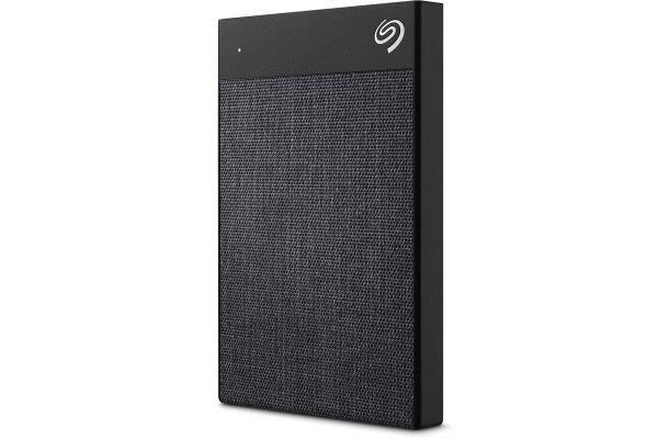 Seagate 2TB Backup Plus Ultra Touch Black Portable Hard Drive - STHH2000400