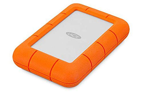 Large image of LaCie 5TB Rugged Mini Portable Drive - STJJ5000400