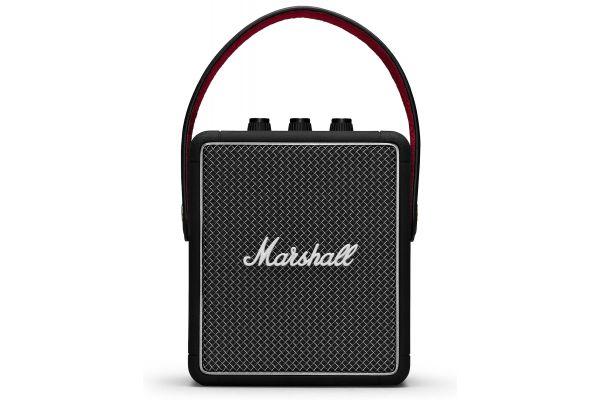 Large image of Marshall Stockwell II Black Bluetooth Speaker - 1001898