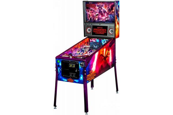Large image of Stern Pinball Stranger Things Limited Edition Pinball Machine - STRANGERTHINGSLE