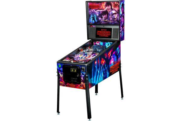 Large image of Stern Pinball Stranger Things Premium Edition Pinball Machine - STRANGERTHINGSPREM